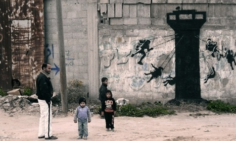 Think on: Banksy's tour of a ruined Gaza | The Aesthetic Ground | Scoop.it