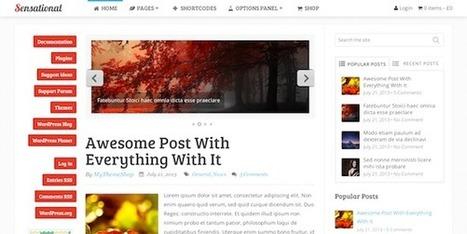 20+ Best WordPress Personal Blogging Themes - Indexwp | WordPress Resources | Scoop.it