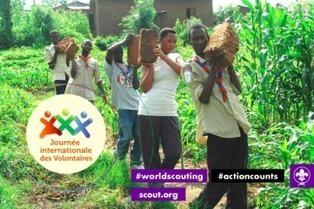 Journée international des Volontaires #actioncounts   Scouting around the world   Scoop.it