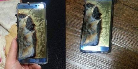 Samsung: rappel massif du Galaxy Note 7, risque d'explosion de batterie | Toulouse networks | Scoop.it