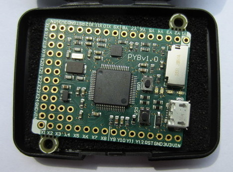 Running Python on a Microcontroller With only 240kB Memory Footprint! | Open Source Hardware News | Scoop.it