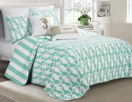 Seahorse Bedding | WebNuggetz.com | Create Rockin' Rooms | Scoop.it