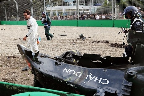 Fernando Alonso didn't know where he was after Australian GP crash | F 1 | Scoop.it