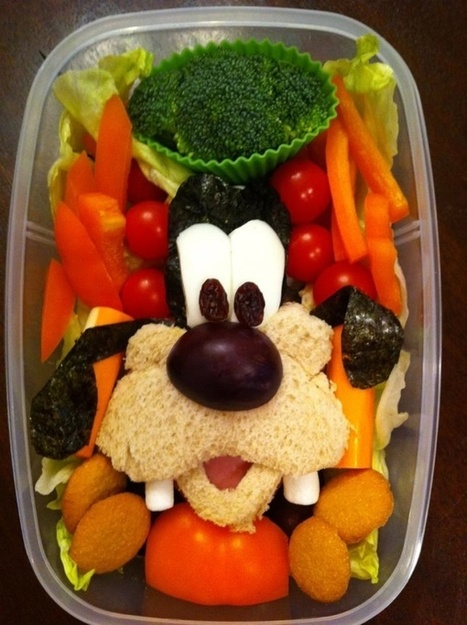 Gallery of cute lunches that Heather makes for her son - Boing Boing | It's Show Prep for Radio | Scoop.it