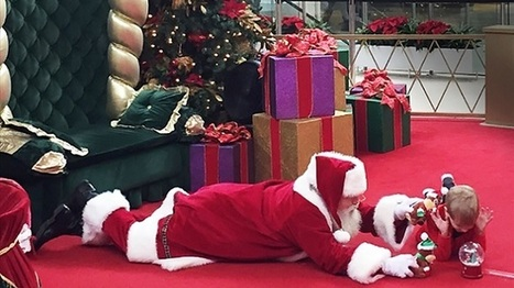 Mall Santa Goes the Extra Mile for Boy with Autism | Tech Help for Teachers | Scoop.it