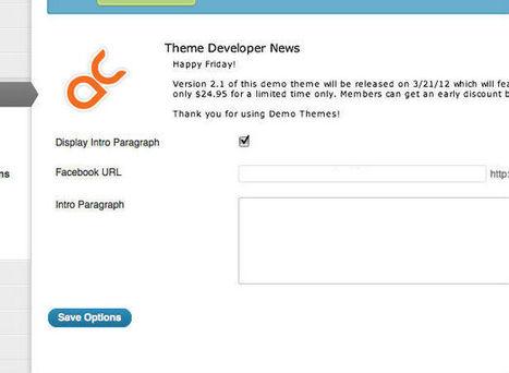 Creating a custom WordPress theme options page | Webdesigner Depot | DIY WordPress | Scoop.it