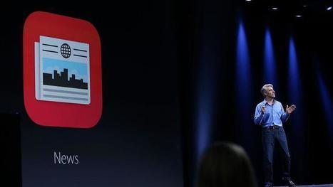 Apple dévoile une application pour lire la presse | DocPresseESJ | Scoop.it