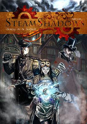 SteamShadows, le futur jeu de rôle SteamPunk de JdR Editions ! | Jeux de Rôle | Scoop.it