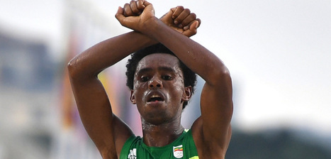 Congressmen Point to Protesting Ethiopian Olympic Runner as Victim in Fight for Freedom | Upsetment | Scoop.it