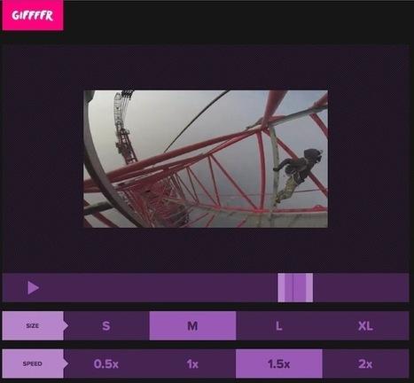 Créer un GIF animé à partir d'une vidéo Youtube | Innovative training watch | Scoop.it