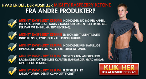 Mighty Raspberry Ketone – Alle naturlige måde at slanke | xt genix | Scoop.it