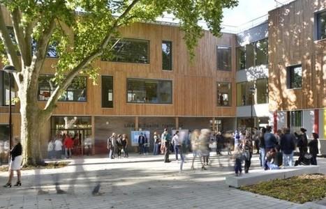 Une école de centre-ville dans un jardin - Bâtiment | architecture verte | Scoop.it