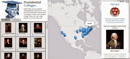 Maps Mania: All the Presidents' Maps | Geospatial Pro - GIS | Scoop.it