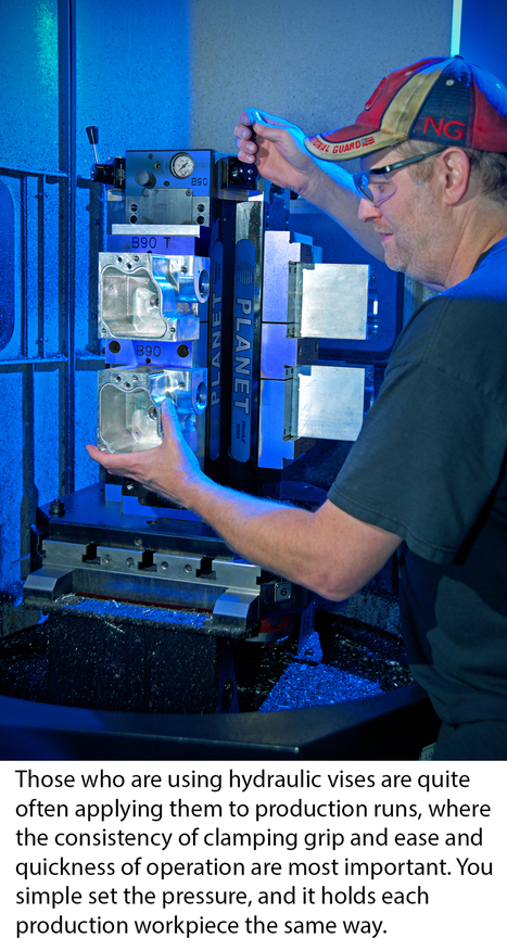 Hydraulic Workholding Devices Add Reliability, Clamp Down on Waste | Manufacturing In the USA Today | Scoop.it
