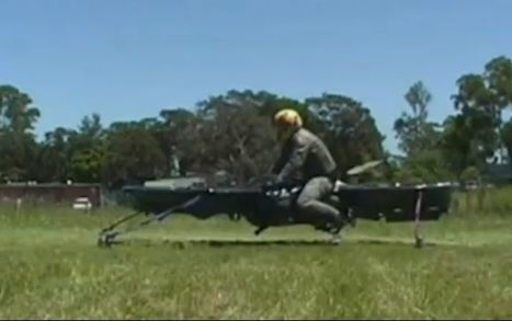 VIDEO: 'Star Wars hoverbikes' may be coming to the US military | Tech Latest | Scoop.it
