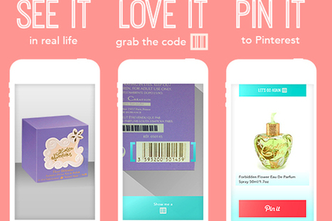 Barcode Scanning App Posts Items Directly To Pinterest [Video] - PSFK | Pinterest | Scoop.it