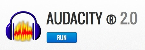 Run Audacity ® 2.0 Online - Audio Editor | Technology and language learning | Scoop.it