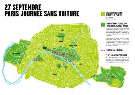 JOURNEE SANS VOITURE - Que Faire à Paris? | Le BONHEUR comme indice d'épanouissement social et économique. | Scoop.it