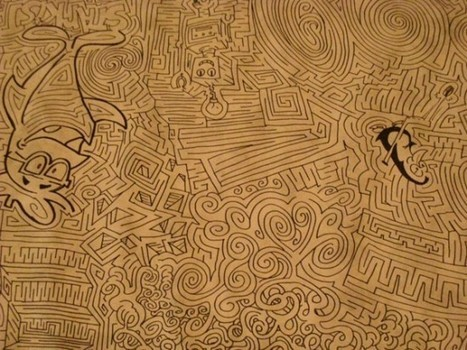 Cartoonist Looking for Solvers of World's Largest Hand-Drawn Maze | Strange days indeed... | Scoop.it