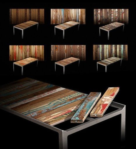 The Re|Surface Table • Recyclart | Upcycled Objects | Scoop.it