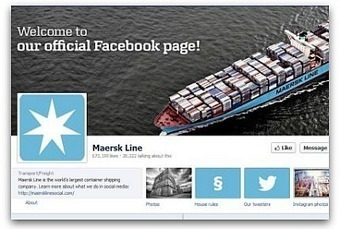 How a shipping company earned 650,000 Facebook fans in a year | Working Stuff | Scoop.it