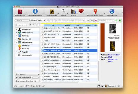 Gérez, convertissez et partagez vos ebooks avec Calibre | Outils Web | Scoop.it