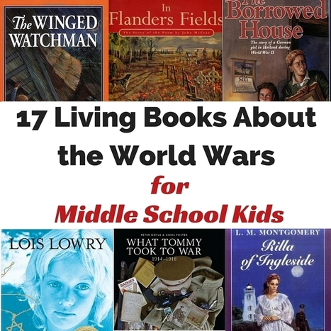17 Living Books about the World Wars for Middle School Kids | HCS Learning Commons Newsletter | Scoop.it