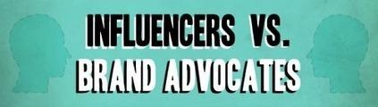 Infographic: Influencer Outreach Versus Brand Advocacy - Marketing Technology Blog | Content Marketing Australia | Scoop.it