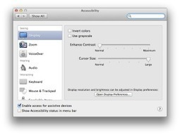 iOS7 Accessibility Features: The Website of Luis Perez | Accessible Educational Materials | Scoop.it