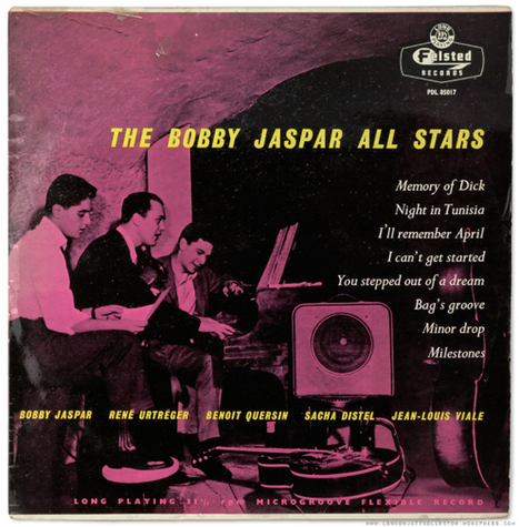 Bobby Jaspar All Stars (1955) Felsted | Jazz Plus | Scoop.it