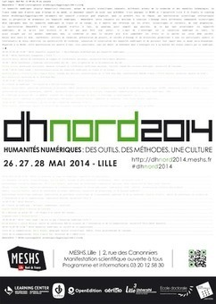 Humanités numériques: des outils, des méthodes, une culture — DHnord2014   Données de la recherche en SHS à l'heure du numérique   Scoop.it