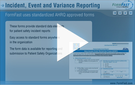 Incident Reporting Software | Healthcare Risk Management | Form Fast Solutions | Scoop.it