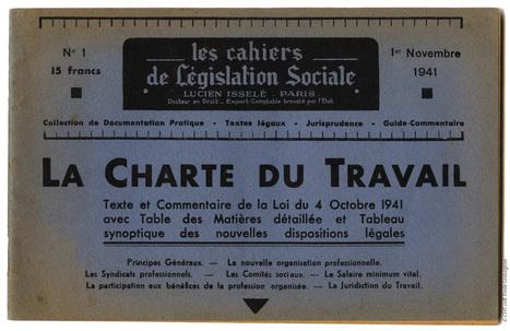 Les syndicalistes de la Loire-Atlantique et la Charte du travail - [Centre d'histoire du travail] | Histoire 2 guerres | Scoop.it
