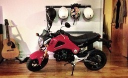 Honda's miniature motorcycle reviewed - Boing Boing | Motorcycle Mania | Scoop.it