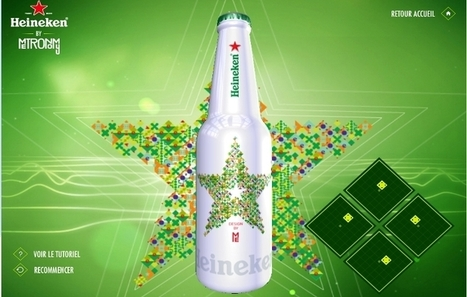 Influencia - Audace - La bouteille vivante de Heineken x Metronomy | Tout le marketing | Scoop.it