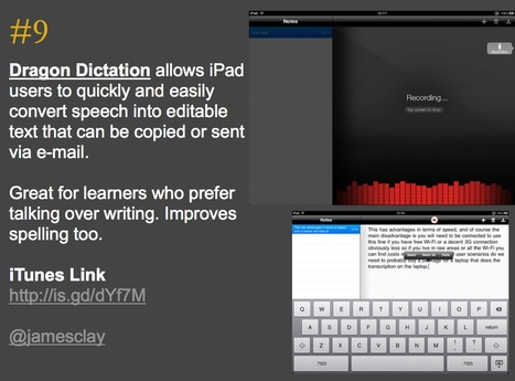 103 Interesting Ways to use an iPad in the Classroom- | Into the Driver's Seat | Scoop.it