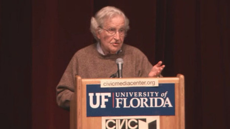 Noam Chomsky slaps down 9/11 truther: People spend an hour on the Internet and think they know physics   Daily Crew   Scoop.it