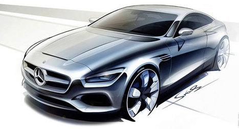 Mercedes-Benz Drops Official Sketch of New S-Class Coupe Concept, Confirms IAA Debut - Carscoops | Automobiles, Supercars - constructeurs automobiles | Scoop.it