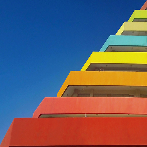 It's Nice That : Istanbul's impossibly colourful minimalist architecture, shot by Yener Torun | Today's Modern Architects and Architecture | Scoop.it