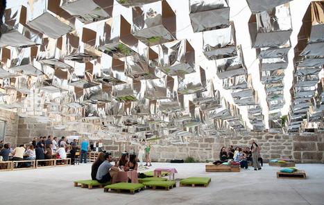 s. joao structure: street PARTY installation by FAHR 021.3 - designboom | Le BONHEUR comme indice d'épanouissement social et économique. | Scoop.it