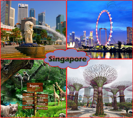 Take the Glimpse of Sinapore – the 'Garden City' | ARV Holidays Pvt. Ltd. | Scoop.it