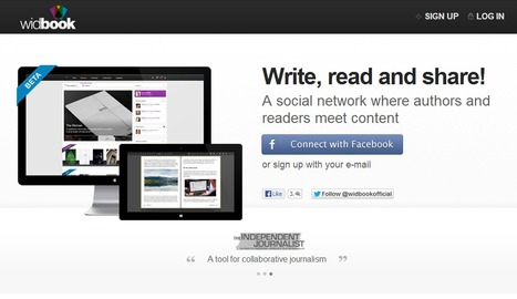 Widbook | Write, read and share! | Time to Learn | Scoop.it