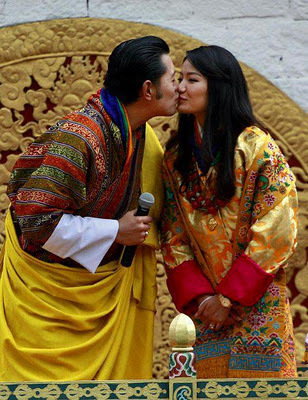A kiss to a queen, With Love from the king- Sogyel Tobgyel's blog | BhutanKingdom | Scoop.it