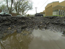 Indianapolis roads crumbling despite huge influx of infrastructure dollars | Civil Engineering Projects & News | Scoop.it