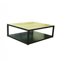 Dadra | Mesas de centro hierro forjado y madera a medida | MESA CUBO DE HIERRO Y MADERA DE ROBLE | Mesa de centro  hierro y madera | Scoop.it