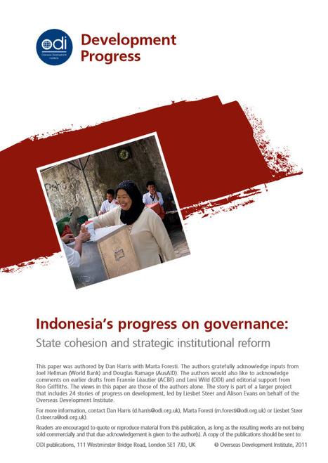 Indonesia's progress on Governance | Indonesia - Development - Urban - Informality | Scoop.it