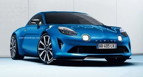 Upcoming Alpine Sports Car Rendered In Production Specification | Consumer Automotive News | Scoop.it