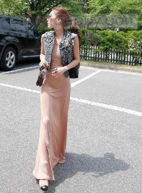 Glamorous Loose Leisure Backless Round Neckline Dress | beautyful | Scoop.it