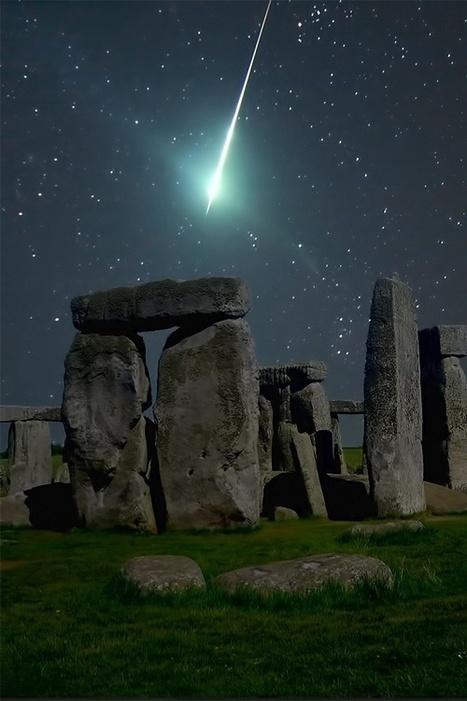 Meteor Over Stonehedge, England | Una imagen lo dice todo | Scoop.it