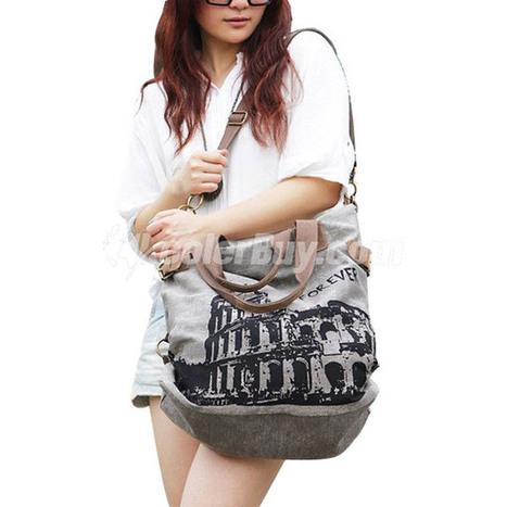 Discount Koolertron Women Man Leisure Graffiti Canvas HandBag SchoolBag Shoulder Bag Travel Bag Ipad Bag | Koolertron Canvas Bag | Scoop.it